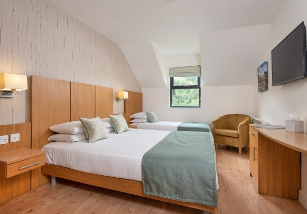 One of our flexible rooms