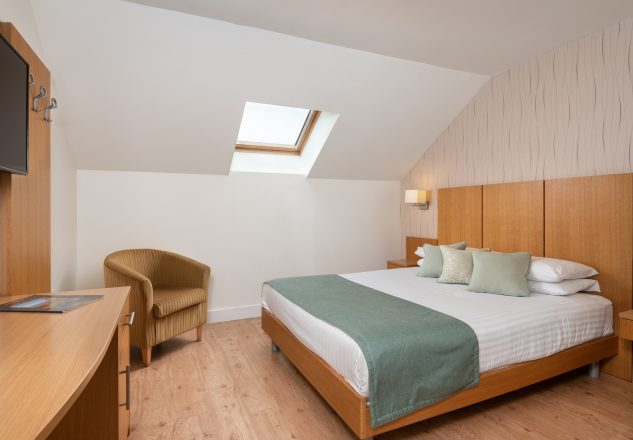 One of the rooms in the Lodge