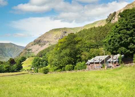 The Lodge is situated in a picturesque valley of St. John's in the Vale, in the heart of the Lake District