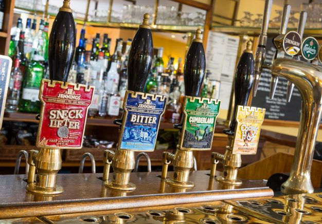 Local Cumbrian real ales available at the bar