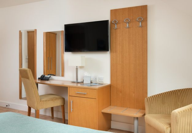 All our rooms are equipped with flat screen TVs