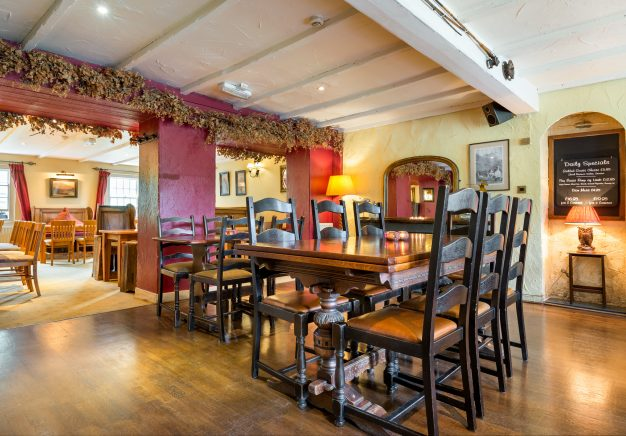 Dining room in Traveller's Rest Grasmere