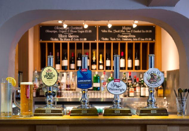 Great selection of craft ales