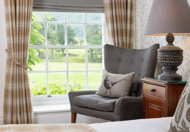 Comfortable, newly refurbished rooms with beautiful views