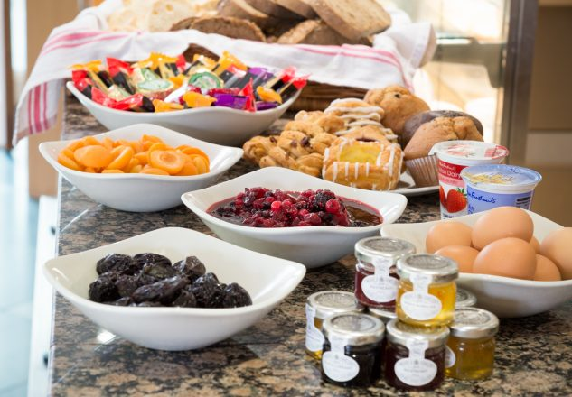 Fantastic continental breakfast is included in the price