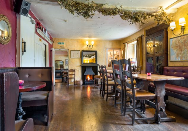 Cosy Lakeland pub