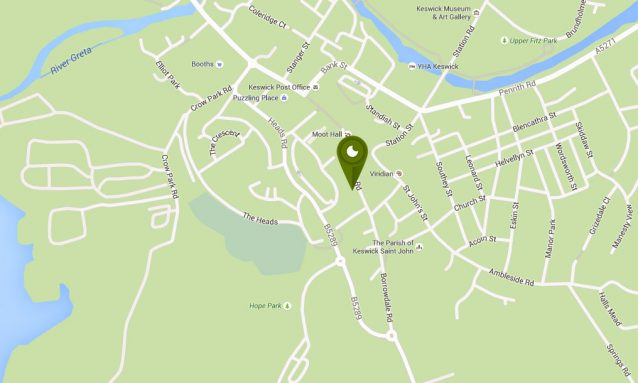 The location of 18 | 20 Cellar Bar