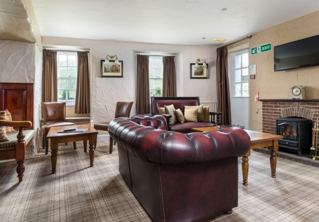 Newly decorated guest lounge at Traveller's Rest - Grasmere