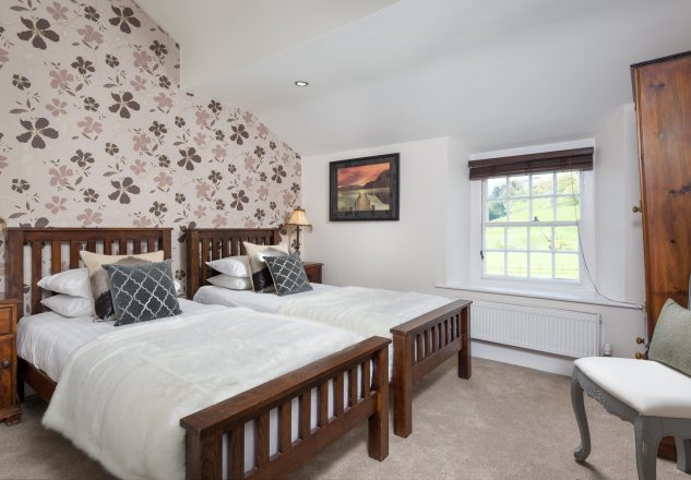 Standard twin room - we have two of them available at Traveller's Rest, one is dog friendly!